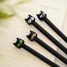 Rollerball Pen Animal Cute Novel Stationery Students Kawaii Lovely Cartoon for Cat-Gel-Pen