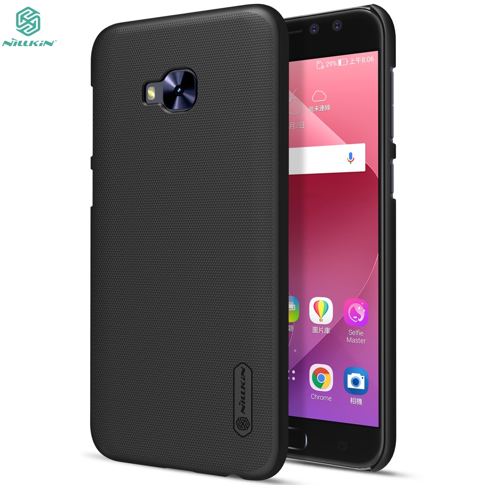 innovative design 328ef 72917 US $7.19 5% OFF|ASUS Zenfone 4 Selfie Pro ZD552KL 5.5 Case NILLKIN Frosted  Shield ASUS Zenfone 4 Selfie Pro ZD552KL Case Hard back cover gift-in ...