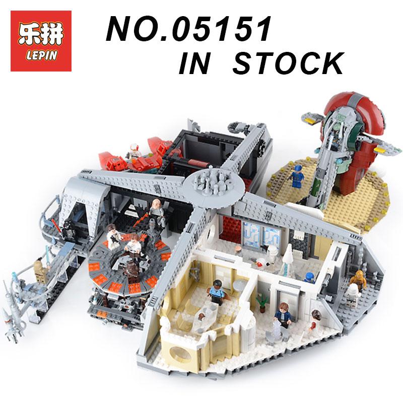 Nouveau Lepin 05151 star wars Plan Trahison à Nuage Ville ensemble Compatible Legoing 75222 Blocs Briques de Construction jouets éducatifs Modèle