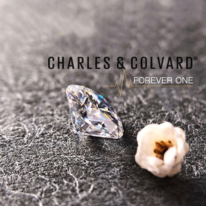 Image 3 - Certified Charles Colvard Forever One Round Brilliant Moissanite Loose Diamond Stones 5mm 0.41CT DEF Color VVS VS Test Positive