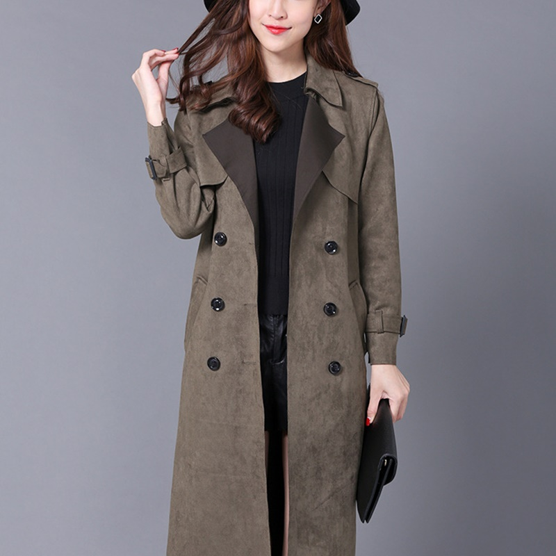 Trench   coat for women warm ladies female coats woman winter 2018 new arrivals fashion winter coat for women trenchcoat KK2487