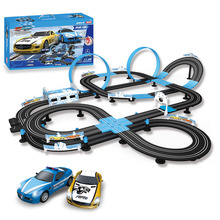 GD New children's toy track car remote control rail car sonic storm track racing roller coaster speed racing цена и фото