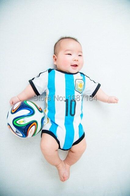 Argentina Camisetas De Futbol 2015 Messi Soccer Jerseys Kids Baby