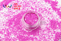 TCH306-H1 Peach Colors Mixed Hexagon Shape Solvent resistant Glitter Sequins for nail art  nail gel DIY decoration