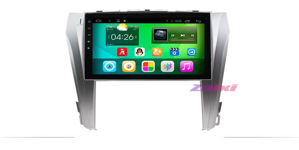 ZaiXi 2din Car multimedia Android Autoradio Car Radio GPS player For Toyota Camry Aurion 2011~2017 Bluetooth WiFi Mirror link65414