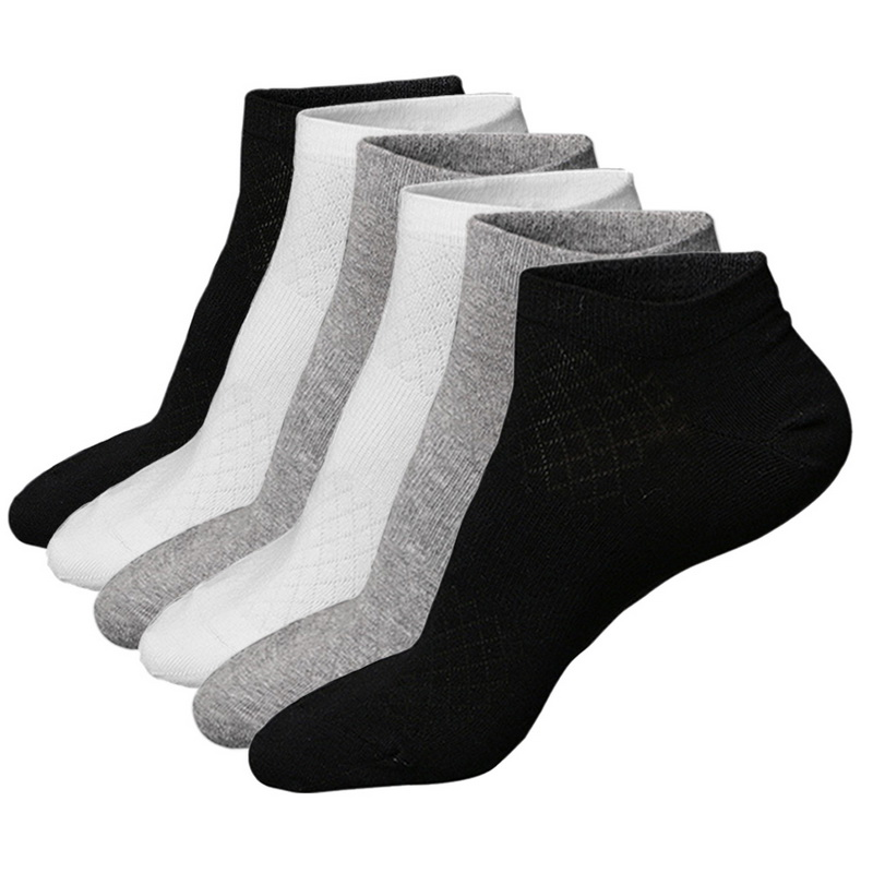 Men's Socks Contemplative Nibesser 1/6/10 Pair Solid Breathable Men Socks Cotton Classic Socks Men Spring And Autumn Casual Brand Men Socks High Quality Buy Now