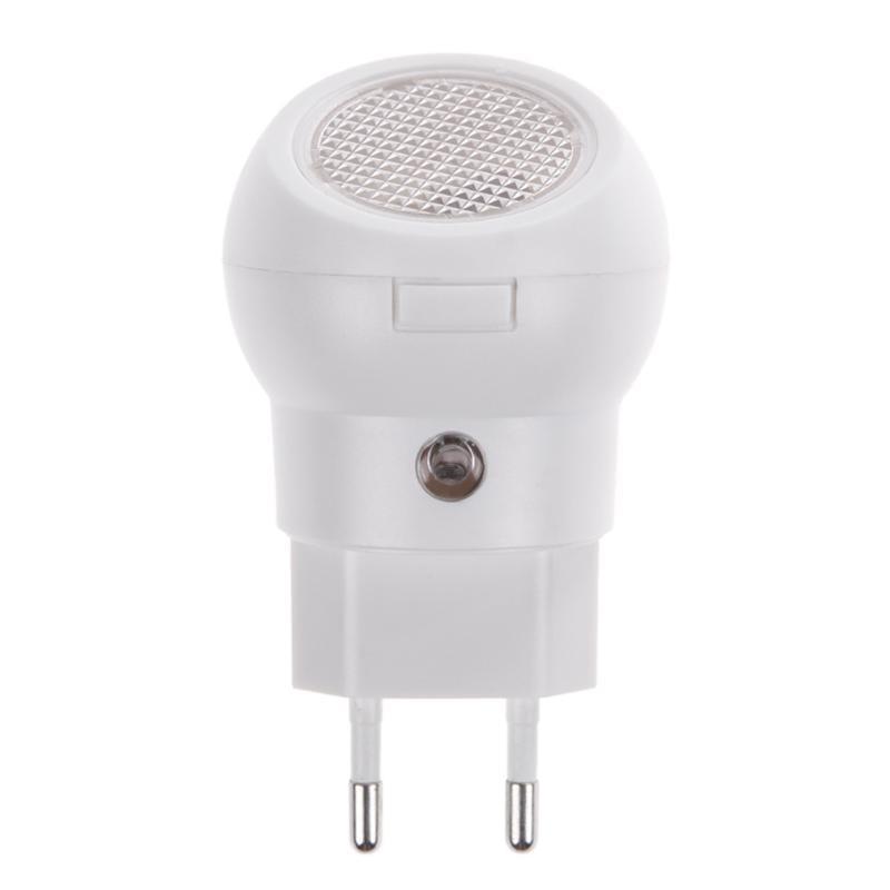 220V LED Night Light Auto Mention Sensor Smart Lighting 360 Degree Rotating Control Lamp For Baby Bedroom With EU Plug