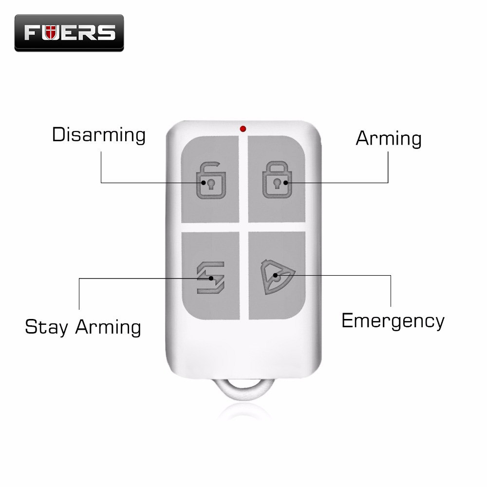 Arm/Disarm-Keychain-Detector Remote-Control Touch Kerui Wireless for Keypad-Panel GSM