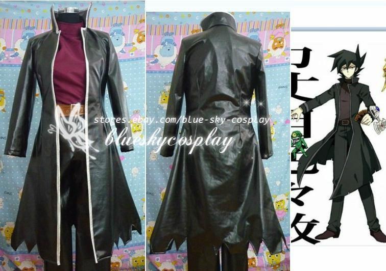 Yu-Gi-Oh Chazz Princeton Cosplay Costume