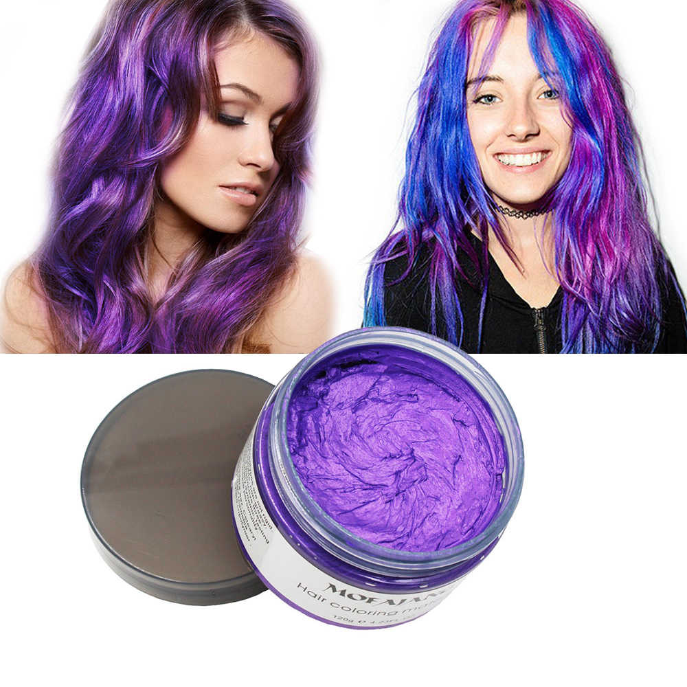 Detail Feedback Questions About Mofajang Hair Color Wax Styling