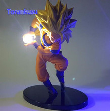 Dragon Ball Z Action Figure LED Light Toy