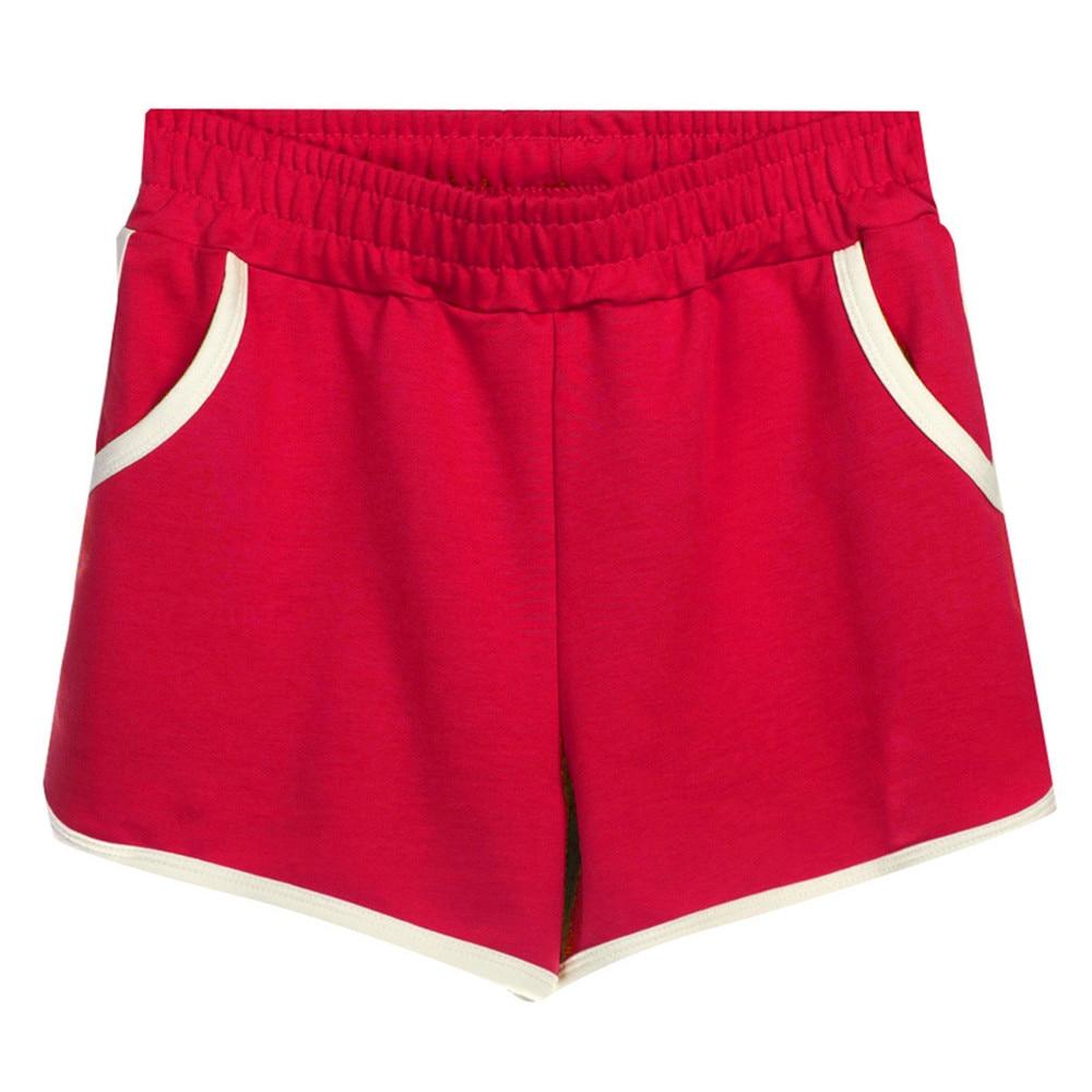 JAYCOSIN Women Clothes Shorts Loose Sports Home Female Shorts Casual Elastic Waist Summer Plus Size Cotton Hot Shorts 2020