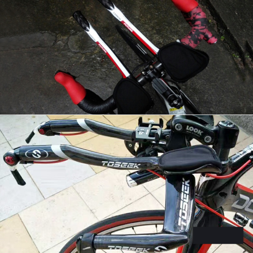 Bicycle Areo Bars Bike Handlebar Carbon Fiber Bars Glossy/Matte 31.8 mm Bicycle Rest Bar Components
