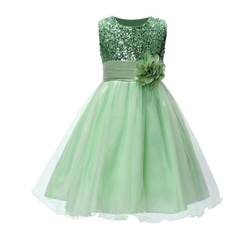 Multiple Colour Sequined Flower Girl Dresses for Wedding A-Line Children Clothing Sleeveless Mother Daughter Dresses With Flower guano apes guano apes proud like a god 180 gr colour