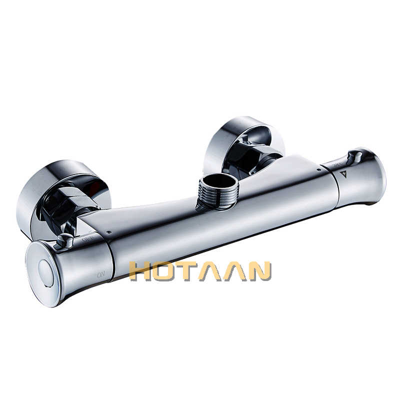 Free Shipping Thermostatic Shower Faucets Bathroom Thermostatic Mixer Hot And Cold Bathroom Mixer Mixing Valve Bathtub Faucet