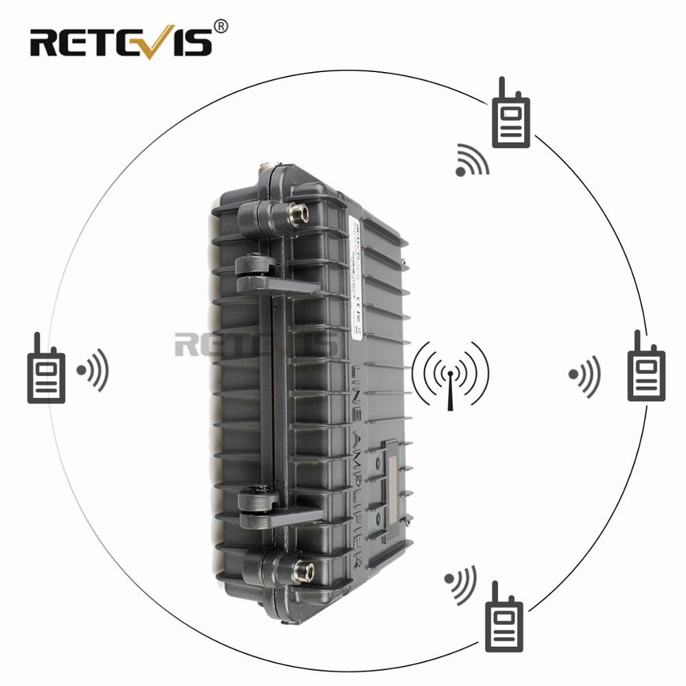 Customizable Full Duplex Mini Analogue Repeater RETEVIS RT97 Two Way Radio Repeater 10W UHF or VHF
