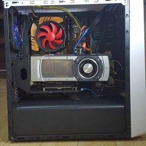 Image 4 - PCIe 3.0 Vga グラフィックビデオカードブラケット垂直垂直転送フレームサポート PCI E 3.0 × 16 拡張ケーブル GTX1080Ti