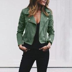 ZOGAA 2019 wiosna jesień nowa kurtka kobiety 6 kolory Bomber ciepła kurtka kobiety nieformalna mody jeansowa kurtka rozmiar 5XL 4