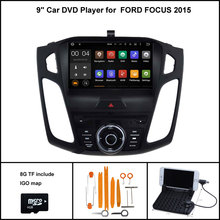 Android 7.1 Quad Core CAR DVD Player for FORD FOCUS 2015 CAR STEREO NAVIGATION+1024X600 HD SCREEN WIFI/3G RDS+16GB flash