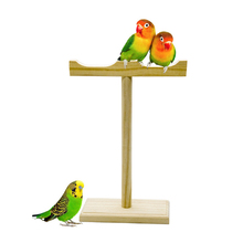 1 pcs Parrot Product Birds Toys Station Rack Training Gnawing Swing training Shelves toys fun Supplies