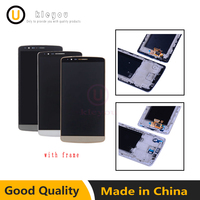 Tested Screen For LG G3 LCD Touch Screen Digitizer Assembly With Frame LG G3 Display D850