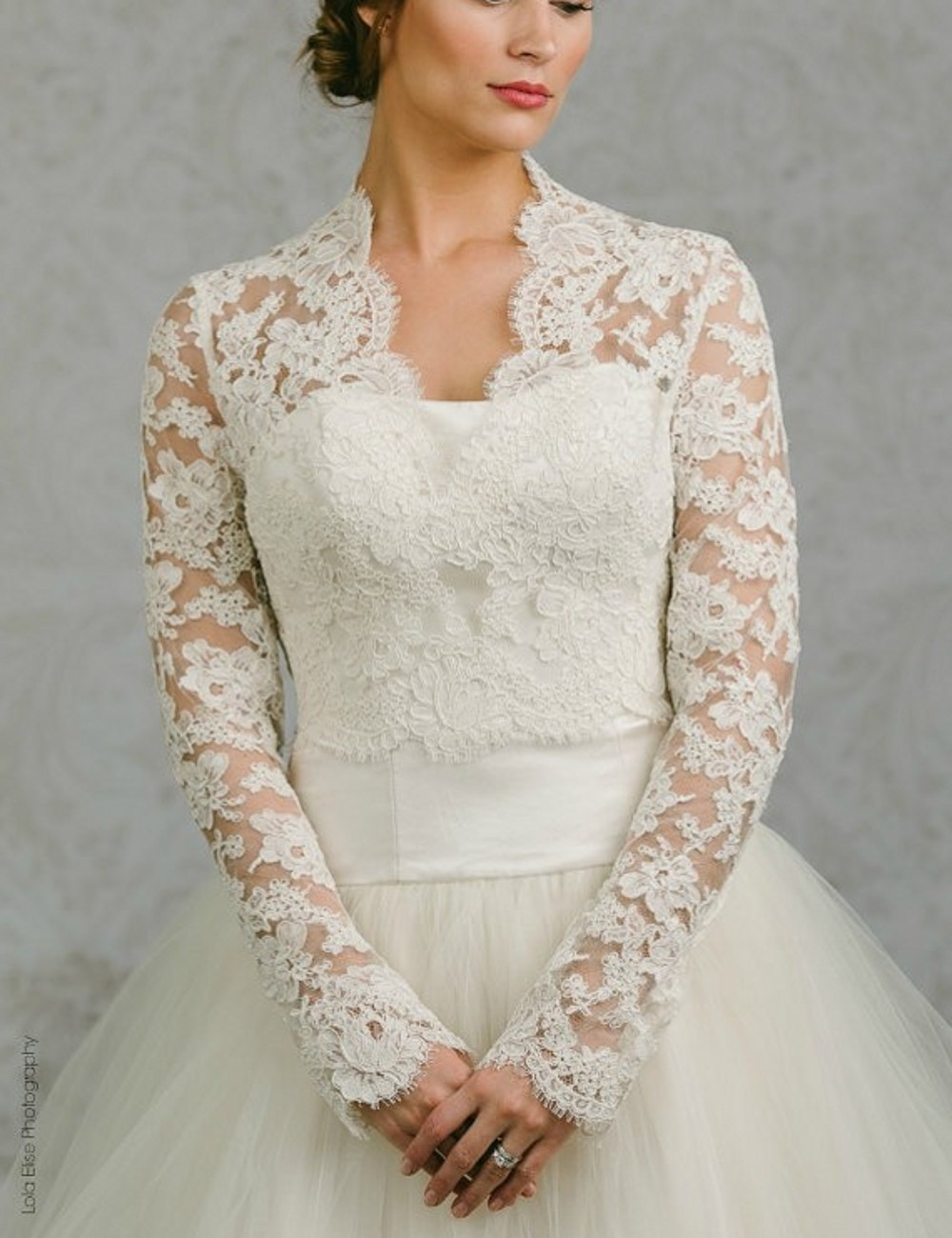 Popular lace jacket for wedding dress buy cheap lace for Dress and jacket outfits for weddings