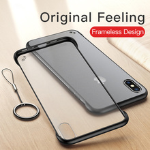 Moskado Ultra Thin Cases For iPhone 8 7 6 6S Plus X Phone Case For iPhone XS Max XR Matte Transparent Hard PC Back Cover Fundas w 1 0 3mm ultra thin protective pc back case cover for iphone 6 transparent grey
