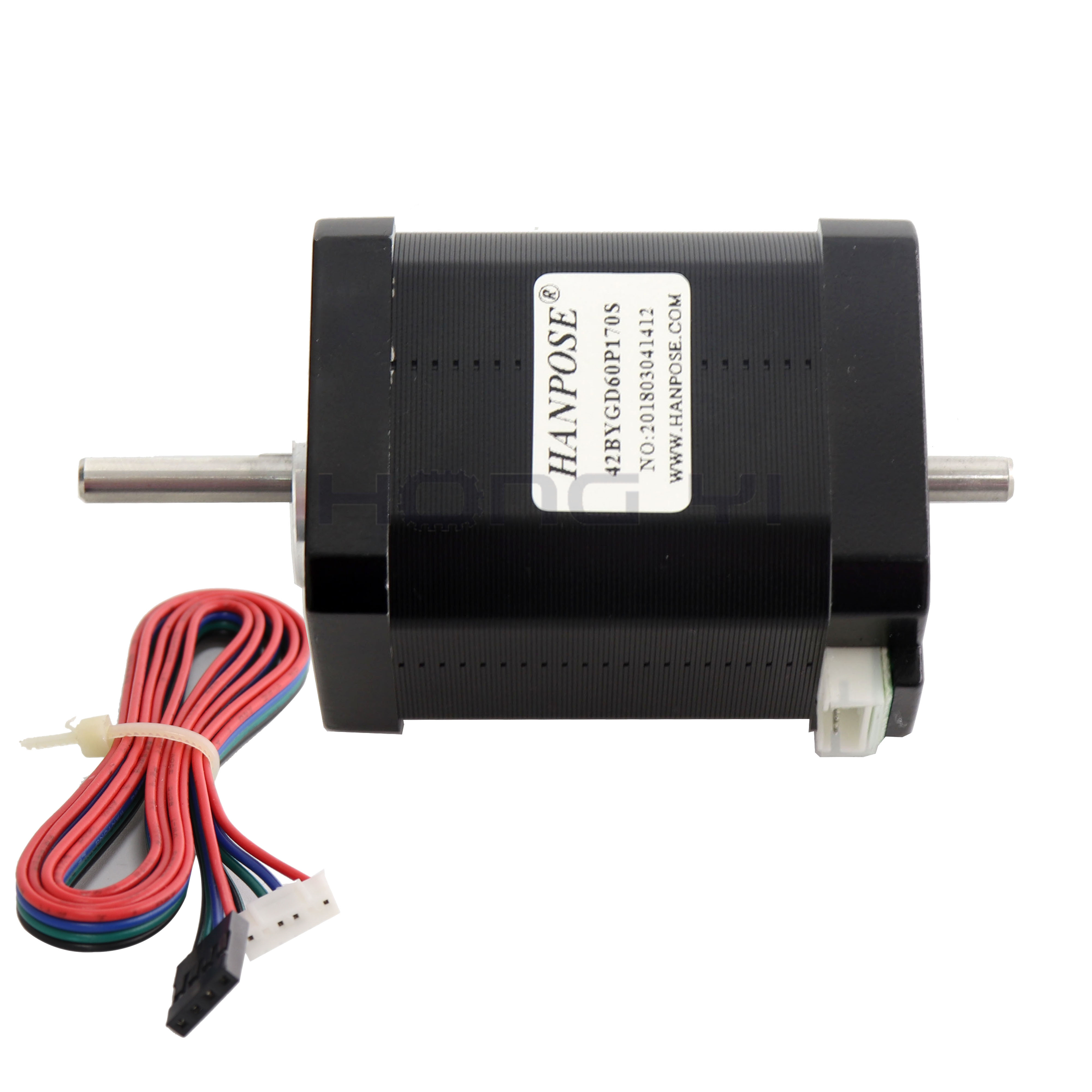 Image 2 - Free shipping hybrid stepper motor nema 17 motor 60mm (1.7A, 0.73NM, 60mm, 4 wire) 17HS6401S for 3D printer cncStepper Motor   -