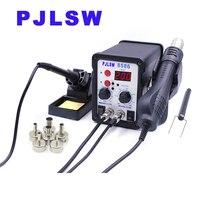 PJLSW 8586 700W ESD Soldering Station LED Digital Solder Iron Desoldering Station BGA Rework Solder Station