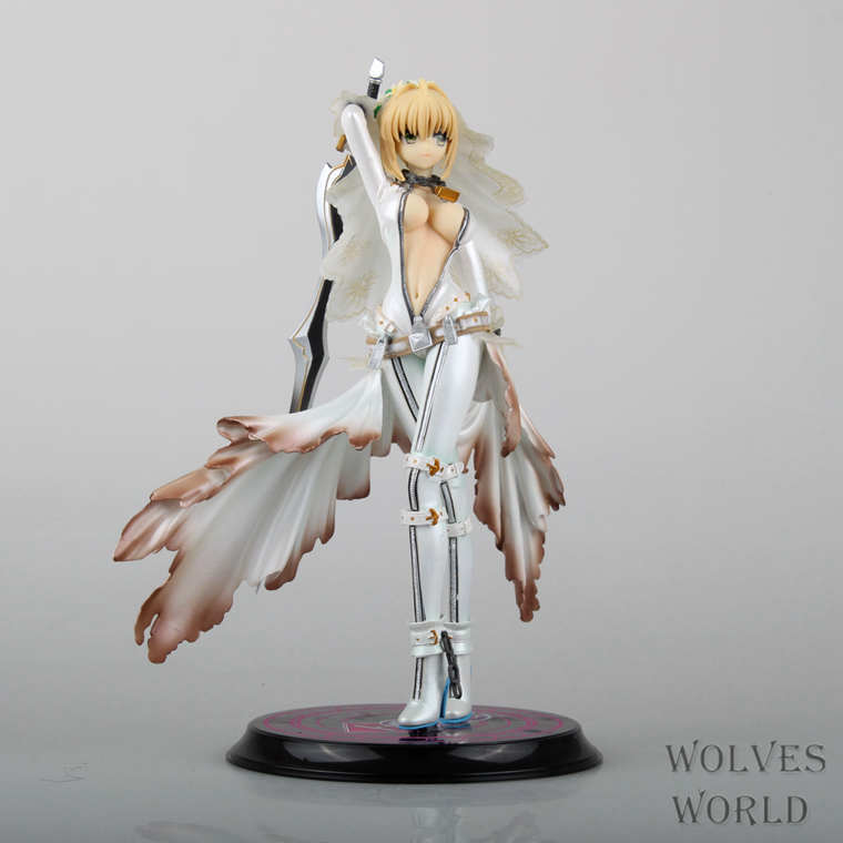 ФОТО The animation wholesale figma fate Fate Sabe Sebastian Nero wedding movable toys