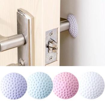 New Furniture Crash Pad 1PC Door Doorknob Back Wall Protector Savor Shockproof Crash Pad 4 Colors Furniture Accessories Furniture Accessories
