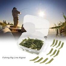 50Pcs/Lot Fishing hook sleeve Tube Carp Fishing Accessories Carp Hook Sleeve Fish Tool Tackle Fishing Swivel