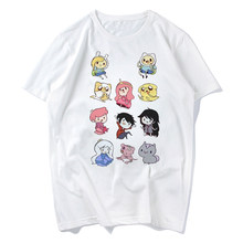 2019 Nieuwe Adventure Time Cartoon T-shirts Zomer Grappige Korte Mouw Wit Heren T-shirt Mannen Casual Kleding Koel Tops tees Plus(China)