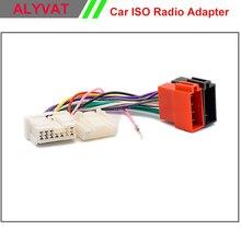 Radio de coche ISO Arnés de Cableado Para RENAULT Logan Sandero Duster 2012 + Cable De Alimentación De Alambre Auto Estéreo Adaptador de Conector Adaptador enchufe