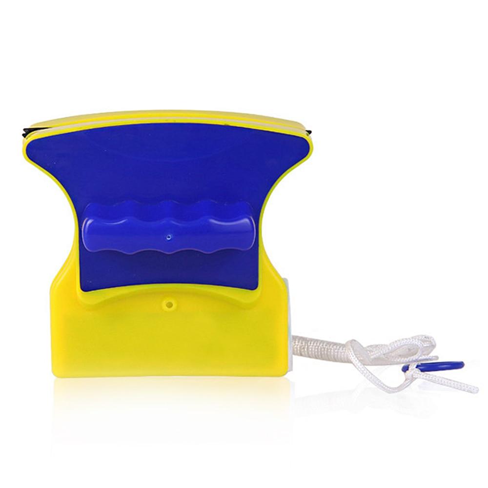 Magnetische Venster Double Side Glas Wiper Cleaner Reinigingsborstel Pad Schraper Nieuwe