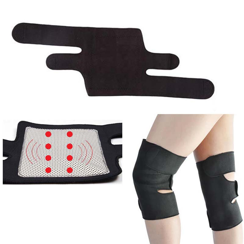 Best Gift Tourmaline Spontaneous Knee Protection Massager Magnetic Therapy knee heating belt Massager Wholesale & Retail магнитный наколенник magnetic knee strap