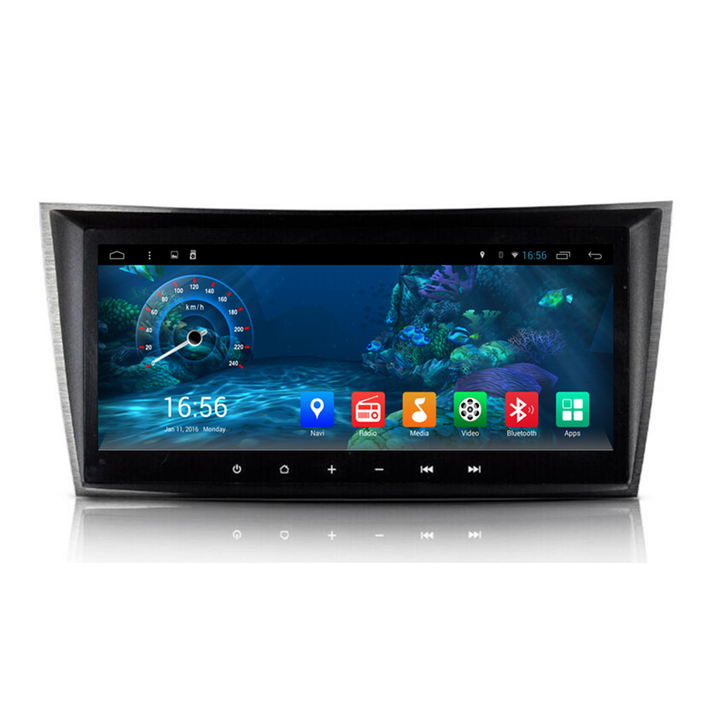 8 8 Android Car Radio DVD GPS Navigation Central Multimedia for Mercedes Benz E W211 CLS