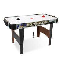 Luxury 53 inch air flow air hockey table indoor competition ice hockey game table with powerful fan and cool graphic design