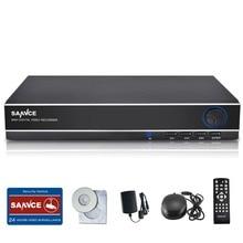 Sannce 8 Canales Completo 960 H H.264 Red D1 Grabador de Vídeo HDMI 3 en 1 CCTV DVR NVR HVR 8CH Sistema de Cámaras de Seguridad para el Hogar