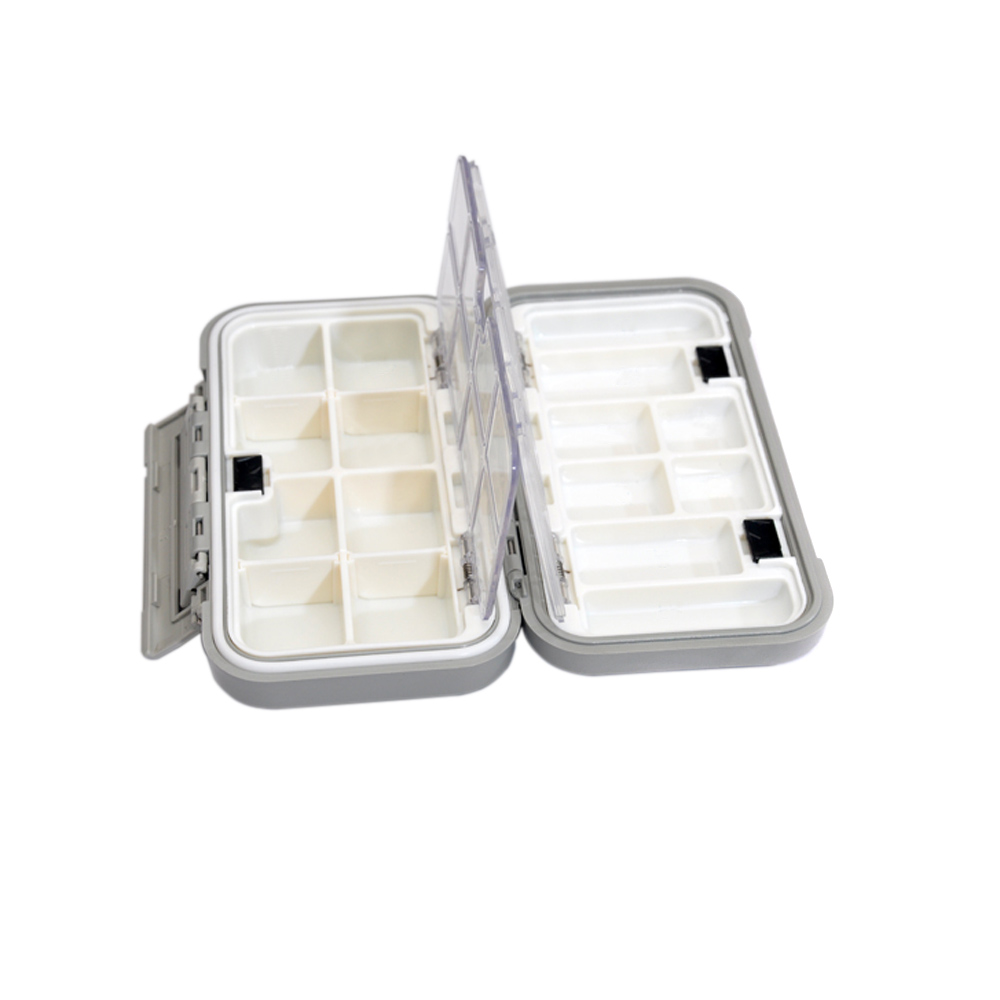 Waterproof Fishing Plastic Box Fly Box Impact Resistant Hook Storage Case Cover Box Fishing Tackle Boxes