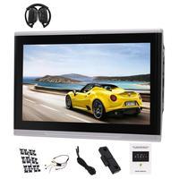 자동차 후면 좌석 머리 받침 모니터 10.1 인치 안드로이드 6.0 후면 머리 받침 플레이어 PC 태블릿 모니터 + IR 헤드폰 1080 마력
