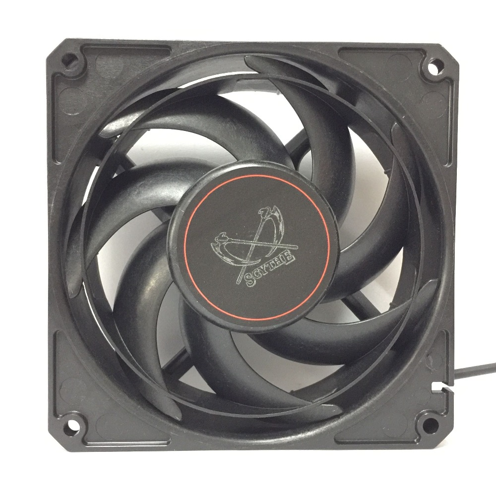 SCYTHE D1225C12 GT3000-P PWM computer case cooling fan quiet cpu power cooler cooling Chassis fan Case Fan стоимость