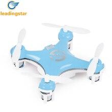 Leadingstar CX-10 мини Drone Радиоуправляемый Дрон 4CH 2.4 ГГц 6-оси гироскопа RC Quadcopter Вертолет VS CX-10 мини Drone лучшие игрушки для малыша