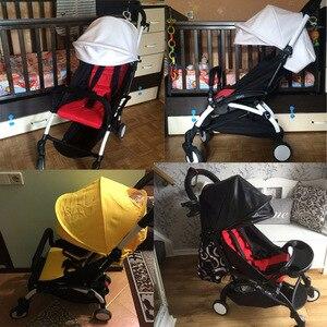Image 3 - Acessórios para carrinho de criança, acessórios para babyzen yoyo 165 yoya capa de proteção contra o sol + almofada forro para carrinho infantil capuz