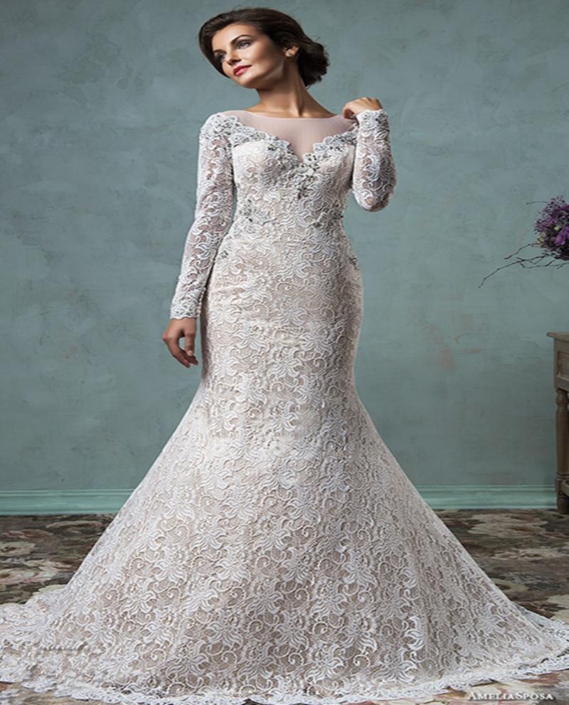 Popular Cream Colored Wedding Dress Buy Cheap Cream