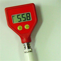 liquid Water Cheese and Milk PH Meter lab Testing instruments with Glass Sharp Electrode