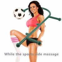 Deep Pressure Massager Ergonomic Design Body Self Back Hook Massage Stick Muscle Deep Pressure Trigger Point