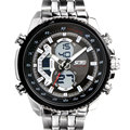 Los hombres Relojes de Cuarzo de Acero Llena de Marcas de Lujo Reloj Digital Reloj LED Reloj Deportivo relogio masculino W0819