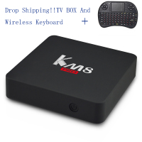 KM8 Pro Smart TV Box Android 6 0 BT 4 0 Amlogic S912 Octa Core 2GB