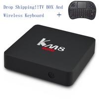 KM8 Pro Smart TV Box Android 6 0 BT 4 0 Amlogic S912 Octa Core 2GB
